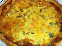 quiche alho frances bacon